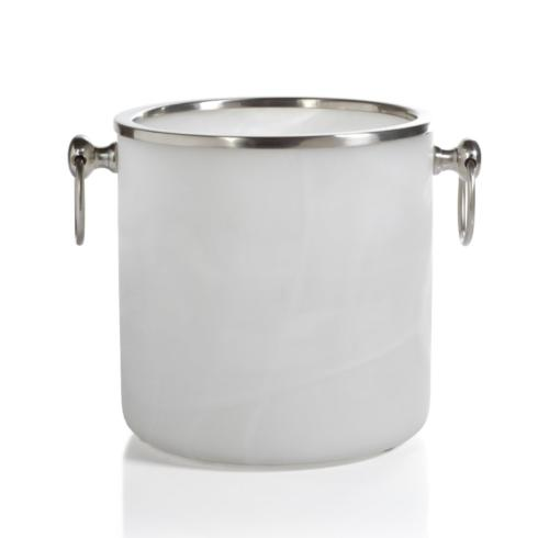 Zodax   Alabaster Glass Ice Bucket $98.95