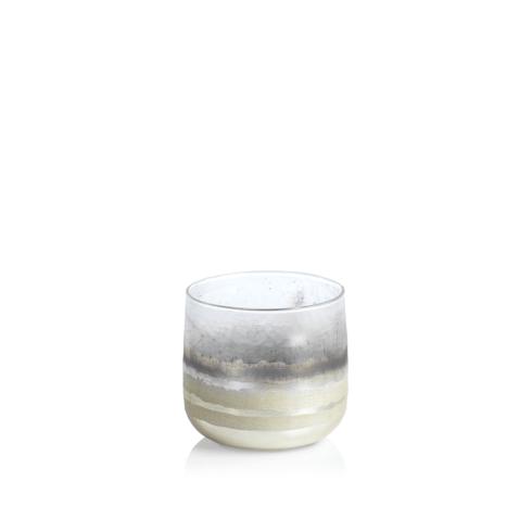 Zodax   White Smoke Candleholder - Small $12.95