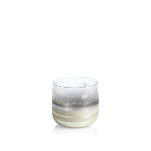 Zodax   White Smoke Candleholder - Small $12.95