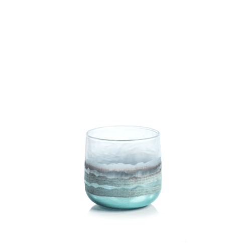 Smoke Votive Holder - Blue collection with 1 products