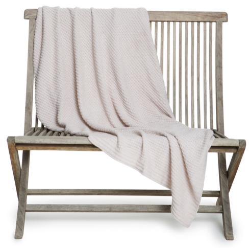 Barefoot Dreams  THROWS the WAFFLE THROW BLANKET Oatmeal $108.95