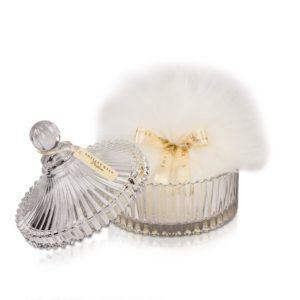 $29.95 Large Crystal Puff Dish (puff not included)
