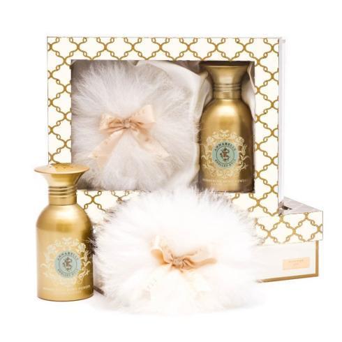 $43.95  Annabelle Shimmer Powder Talc Free Gift Box Set 100G/4oz