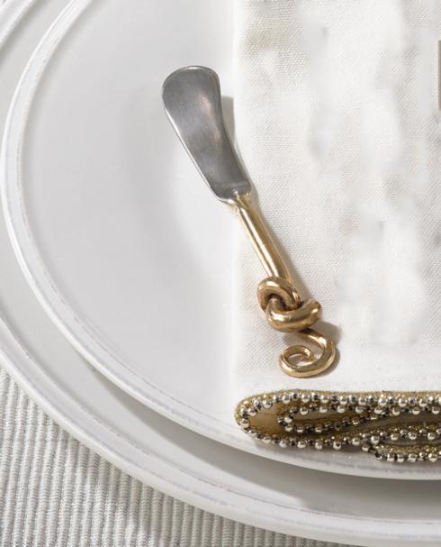 $7.95  Gold Knotted Cocktail Knife