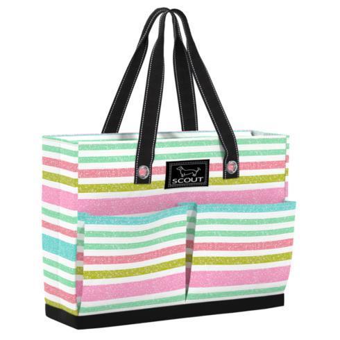 $39.95 Uptown Girl POCKET TOTE BAG