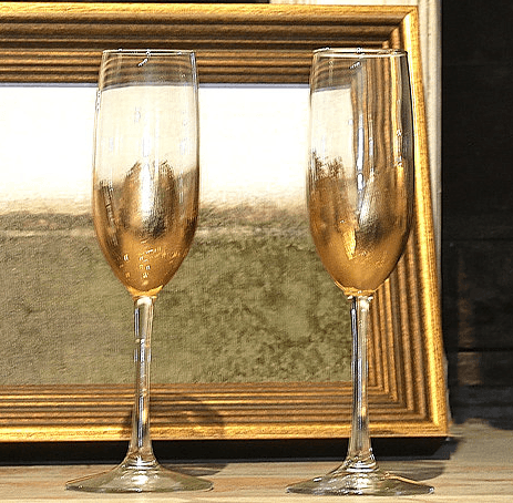 ELM Designs   Gold Leaf Champagne $29.95