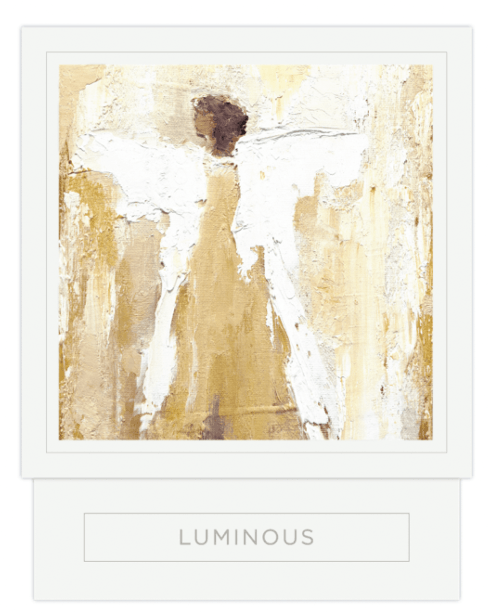 Anne Neilson   LUMINOUS CANDLE (Golds) $52.95