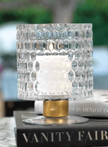 $38.95 Honeycomb Hurricane with Brass Trim