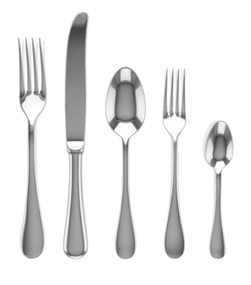 $49.50 BRESCIA 5 PC Place Setting