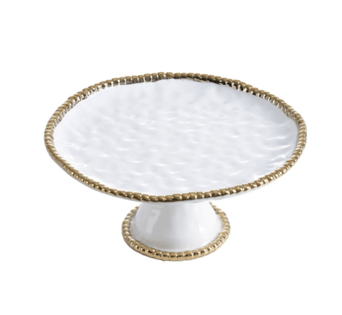 Elizabeth Clair\'s Unique Gifts  Pampa Bay Round Cake Stand $65.95