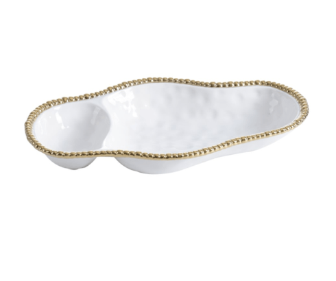 Elizabeth Clair\'s Unique Gifts  Pampa Bay 2 Section Serving Piece $54.95