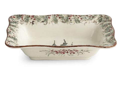 Elizabeth Clair\'s Unique Gifts   Natale Rectangular Serving Bowl  $108.95