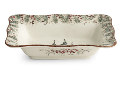 $108.95 Natale Rectangular Serving Bowl
