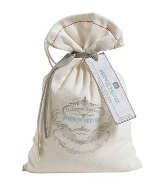 $10.95 French Velvet bath salt bag