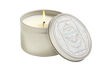 Hillhouse Naturals   French Velvet candle tin  $13.95