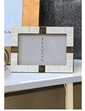 Zodax  Frames Bone & Brass 4x6 Photo Frame $26.95