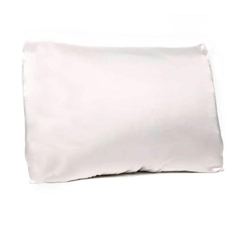 Bella il Fiore  Silky Pillowcases Satin Pillowcase with Envelope Closure - Ivory $24.95
