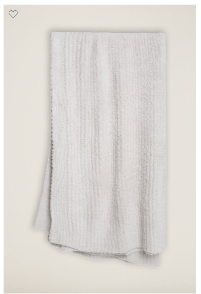 Barefoot Dreams  THROWS CozyChic® Almond Ribbed Throw $134.95