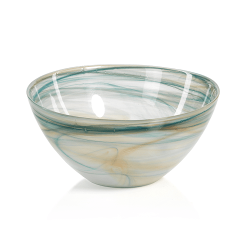 $19.95 Lagoon Alabaster Glass Bowl - Small