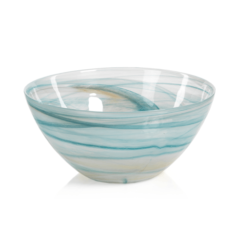 Lagoon Alabaster Glass Bowl - Large collection with 1 products
