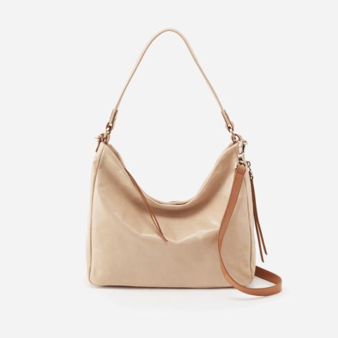 $268.00 DELILAH Convertible Crossbody Shoulder Bag, Color: Parchment