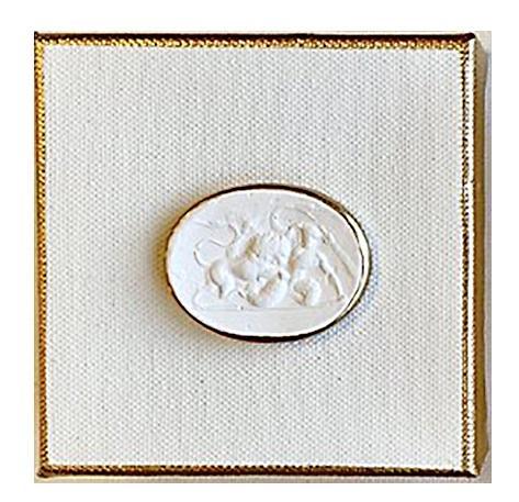Elizabeth Clair\'s Unique Gifts   Intaglio White Box $31.95