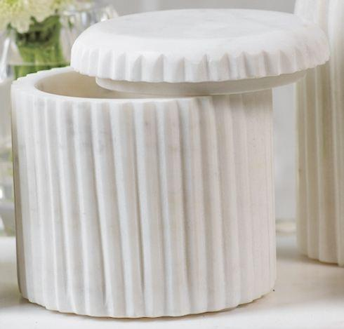 Zodax   Marble Lidded Container $41.95