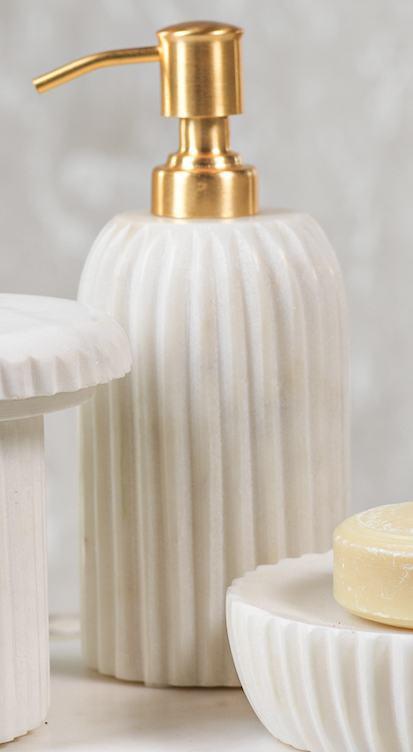 Zodax   Marble Soap Dispenser $39.95