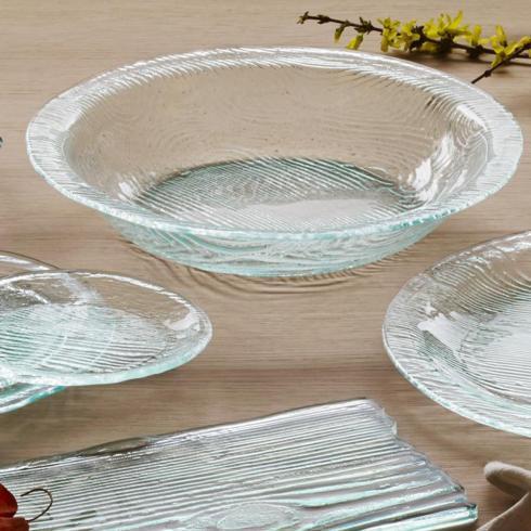 """Elizabeth Clair\'s Unique Gifts  Annieglass GROVE 15"""" Large Serving Bowl $87.95"""