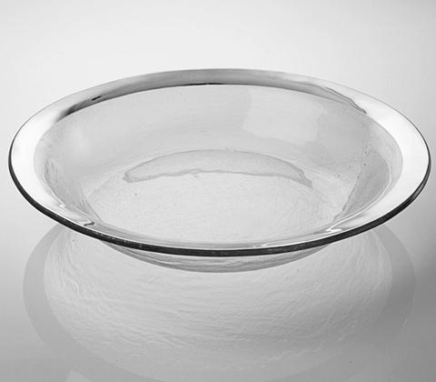 "$188.95 Annieglass Platinum 15"" tossing Serving Bowl"