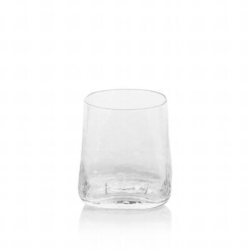 Zodax   Kallos Hammered Rocks Glass $12.95