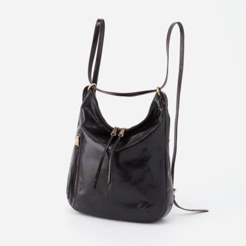 MERRIN Convertible Backpack Shoulder Bag, Color: Black collection with 1 products