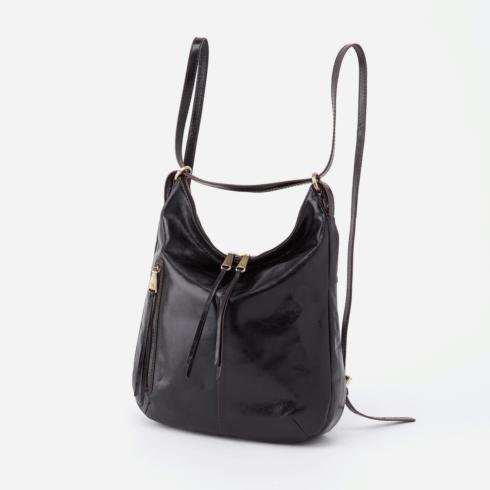 $278.00 MERRIN Convertible Backpack Shoulder Bag, Color: Black