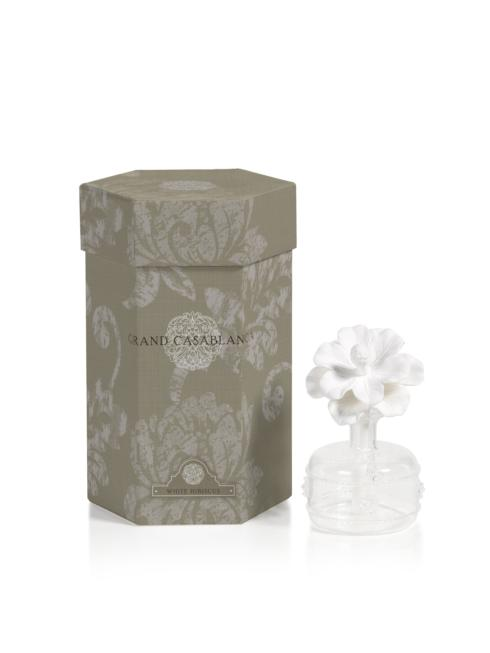 Mini Grand Casablanca Porcelain Diffuser, White Hibiscus collection with 1 products