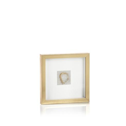 Zodax   Gold Framed Crystals Small $74.95