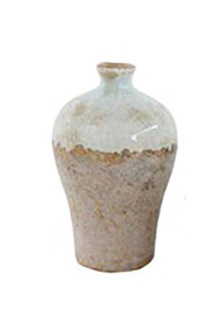 Creative Co-op   Aqua Vase Tall $37.95