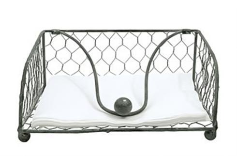Creative Co-op   Wire Napkin Holder, Grey $14.95