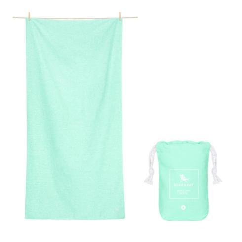 Eco Collection -Quick dry & compact towels for gym & yoga - RAINFOREST GREEN -LARGE image