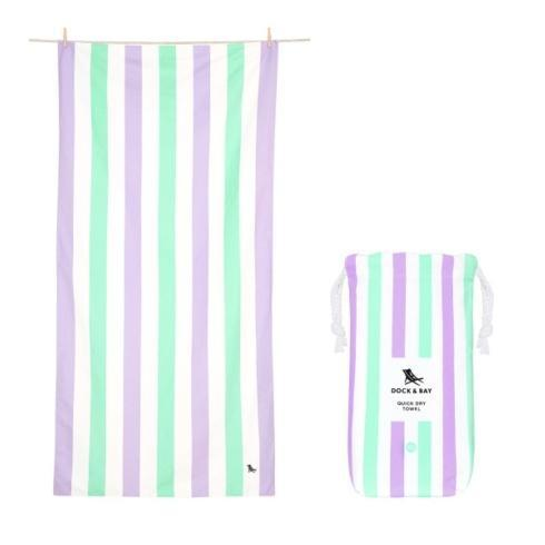 $29.95 Summer Collection - Quick Dry Beach Towel - LAVENDER FIELDS -EXTRA LARGE