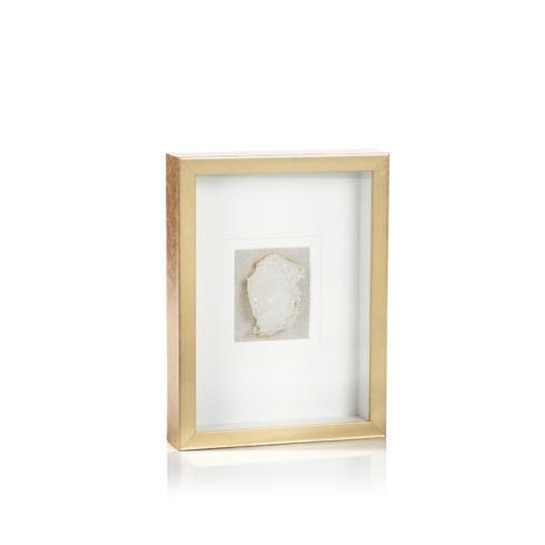 Zodax   Gold Framed Crystals Tall $104.95