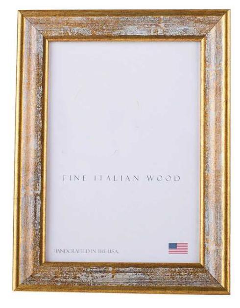 "Elizabeth Clair\'s Unique Gifts  Frames Gold Iconic 5"" X 7"" Frame $35.95"