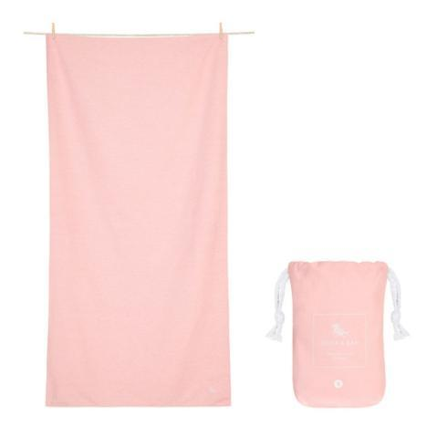$29.95 Eco Collection - Quick dry & compact towels for gym &  yoga - ISLAND PINK - EXTRA LARGE