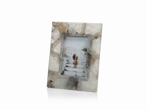 Zodax  Frames  Preto Agate Photo Frame $69.95