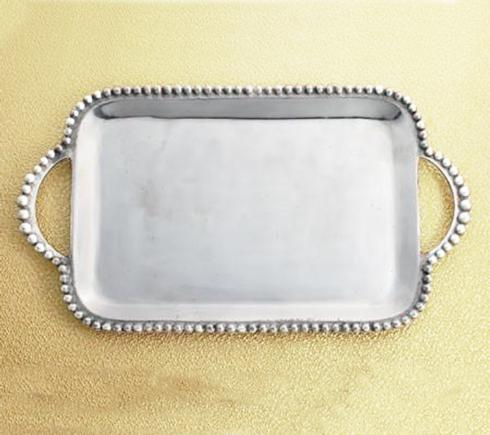 Elizabeth Clair\'s Unique Gifts   Extra Large Beaded Tray With Handles $59.95