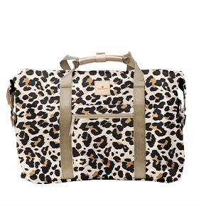 $239.20 Weekender Leopard Coated Canvas