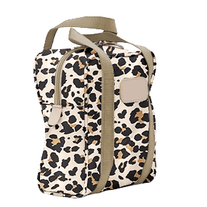 $78.00 Shag Bag Leopard Coated Canvas