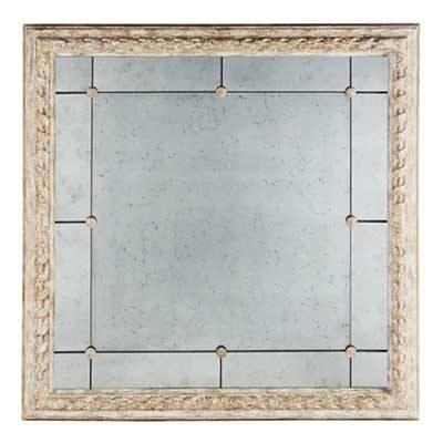 "$1,395.95 Bright Gold Bilzen Mirror	 48"" x 48"""