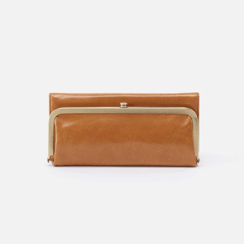 $148.00 RACHEL Wallet Color: Honey