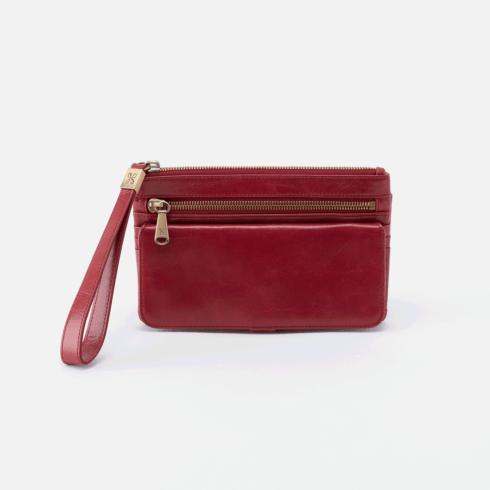 $138.00 ROAM Wristlet Color: Berry