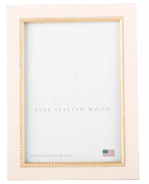 "Elizabeth Clair\'s Unique Gifts  Frames Vanilla Gold Bead 4"" X 6"" Frame $26.95"